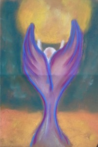Angel Carrying Sun